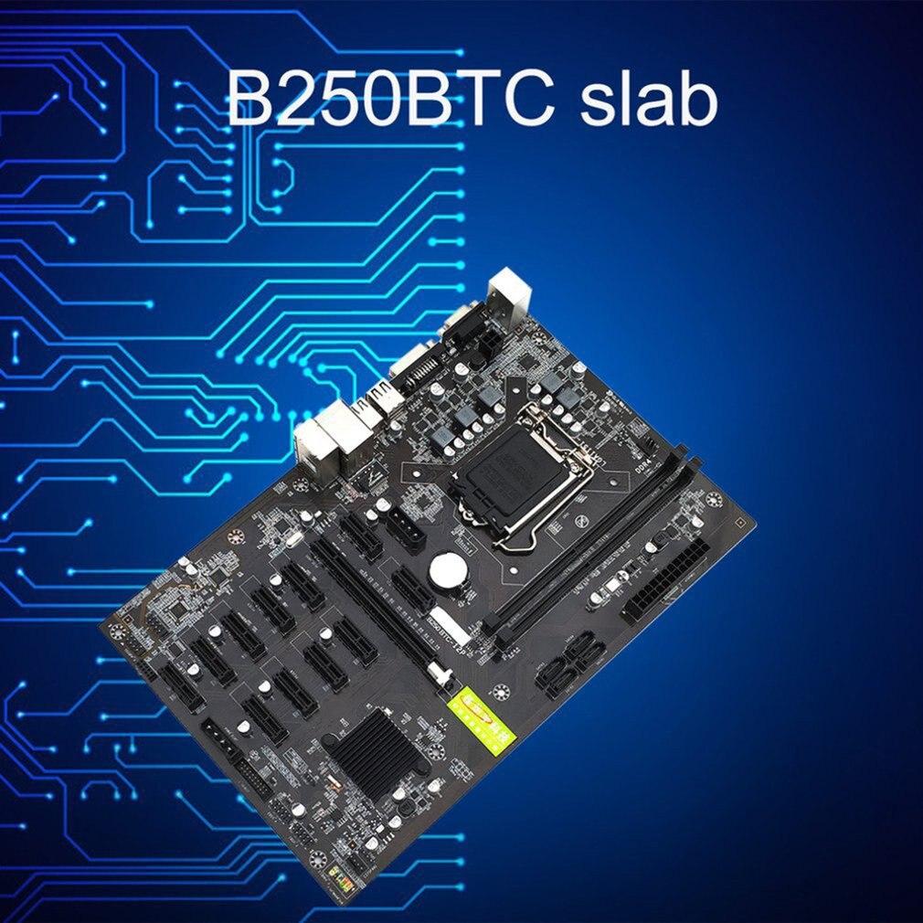 For Asus B250 MINING EXPERT 12 PCIE mining rig BTC ETH Mining Motherboard With 12 Graphics Slot LGA1151 USB3.0 SATA3 DDR4