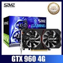 SZMZ Video Card GTX 960 4GB GPU 128Bit GDDR5 Graphic Card For nVIDIA VGA Geforce Original New GTX960