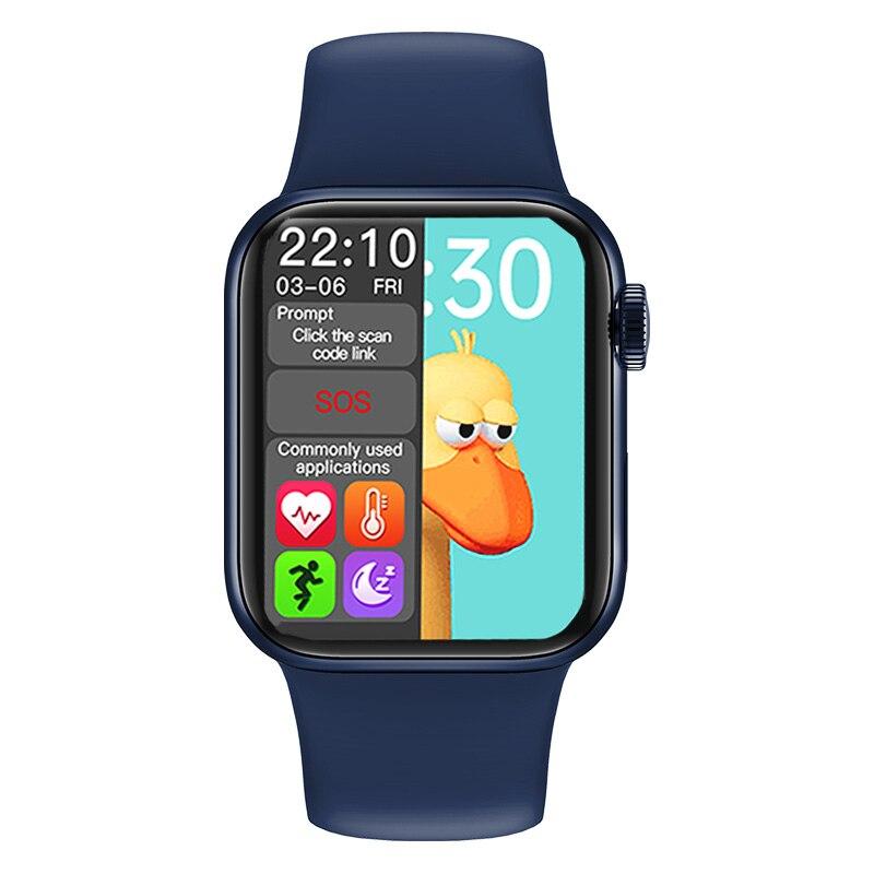 HW12 HW16 ساعة ذكية بشاشة كاملة 44 مللي متر 40 مللي متر الرجال AK88 Smartwatch مع كلمة السر سبليت بلوتوث IWO 16 FK99 زائد HW22 برو ساعة