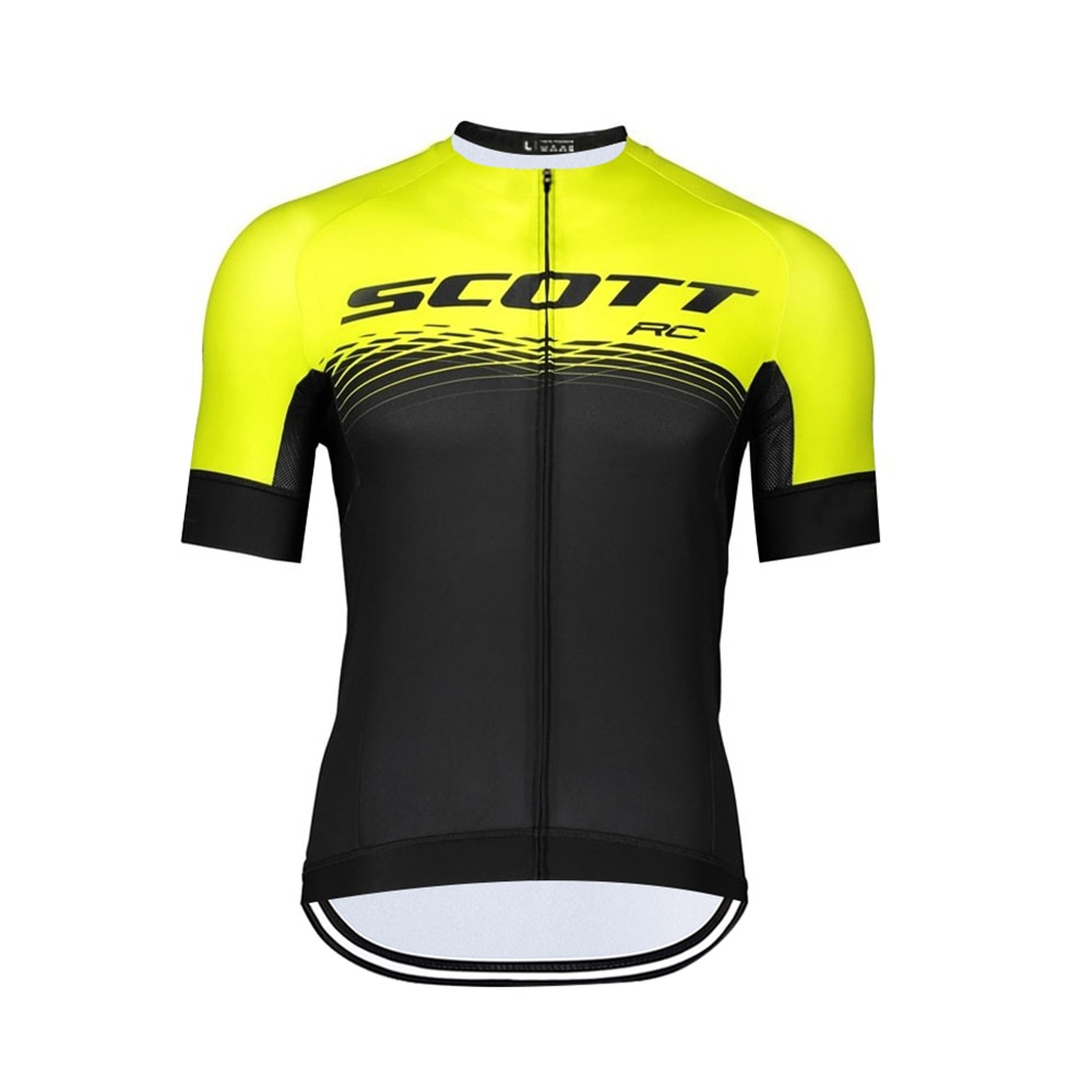 Camiseta de Ciclismo para hombre, ropa deportiva de manga corta, Maillot transpirable,...
