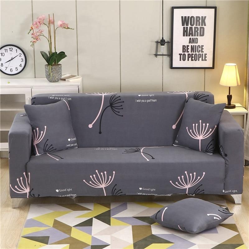 تمتد أريكة يغطي لغرفة المعيشة المطبوعة مرونة غطاء أريكة أريكة غطاء غطاء الأثاث الغلاف/2/3/4 مقاعد L شكل