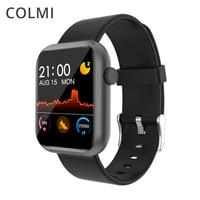 Смарт-часы COLMI P9, мужские и женские умные часы со встроенными играми, водонепроницаемость IP67, монитор сердечного ритма во время сна для телеф...