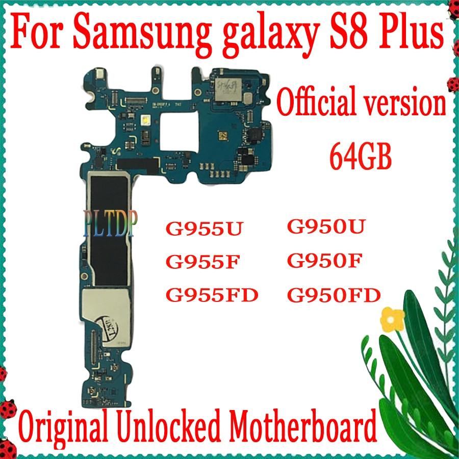 الشحن المجاني ، الإصدار الرسمي لسامسونج غالاكسي S8 زائد G955U G955F G955FD G950U G950F G950FD اللوحة ، مع رقائق كاملة