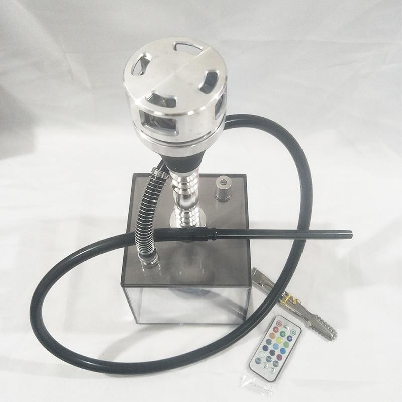 2020 Hot Sale Silicone Glass Smoke Pot,Arab Acrylic Hookah Shisha Carbon Bowl Set Smoke pot Bar KTV Accessories enlarge