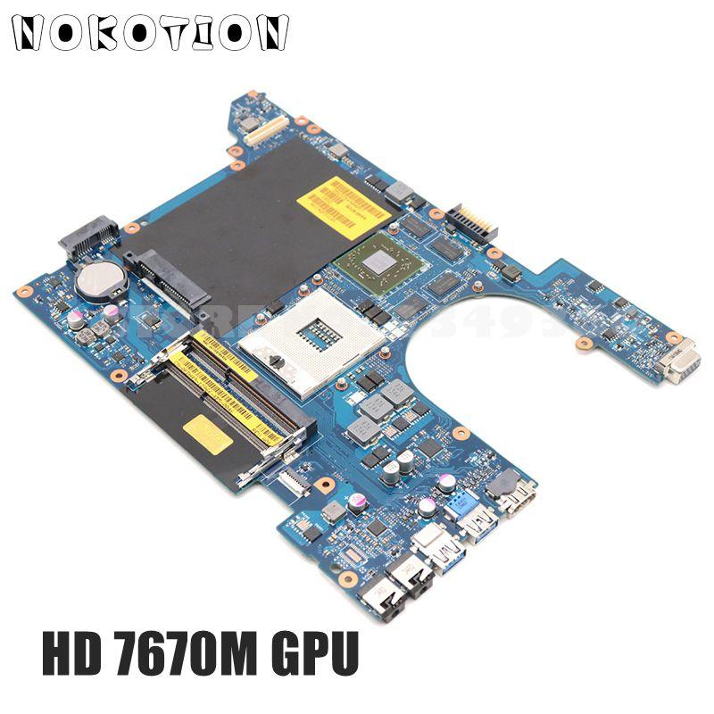 NOKOTION For Dell Vostro 3560 v3560 Laptop Motherboard CN-0RDH49 0RDH49 QCL00 LA-8241P HM77 DDR3 HD7670M Video Card