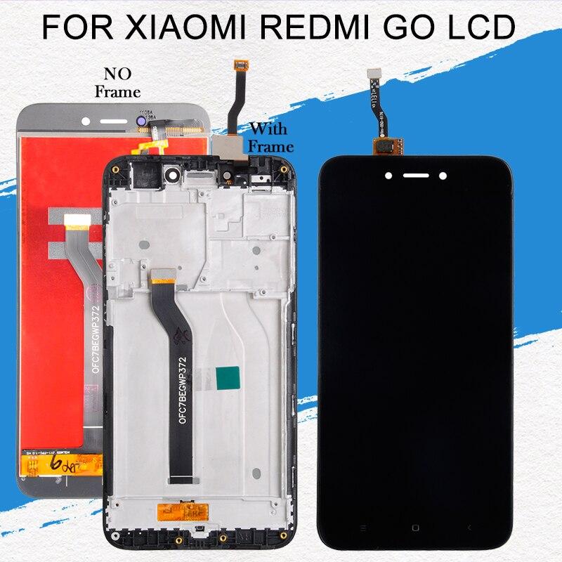 Dinamico 5.0 polegada para xiaomi redmi ir display lcd painel da tela de toque digitador assembléia com ferramentas frete grátis