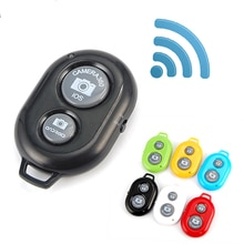 1Pcs Universal WIFI Wireless Bluetooth Remote Shutter Release Button For IPhone Samsung Selfie Camer