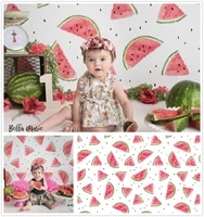 photography backdrop watercolor watermelon summer newborns baby child cake smash photo background summer studios photocall props