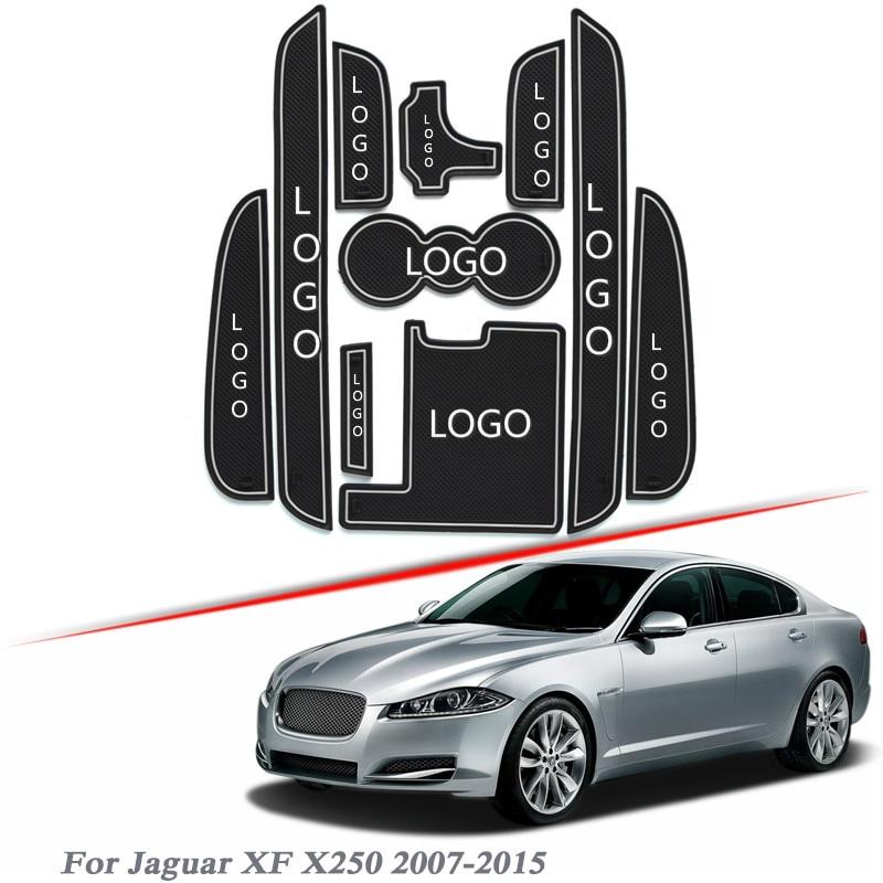 Logotipo de la marca de coche de estilo para Jaguar XF X250...