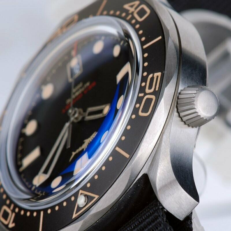 Heimdallr Sea Ghost Men's Dive Watch Black Dial Titanium Case 200M Water Resistance Sapphire NH35A Automatic Movement Wristwatch enlarge