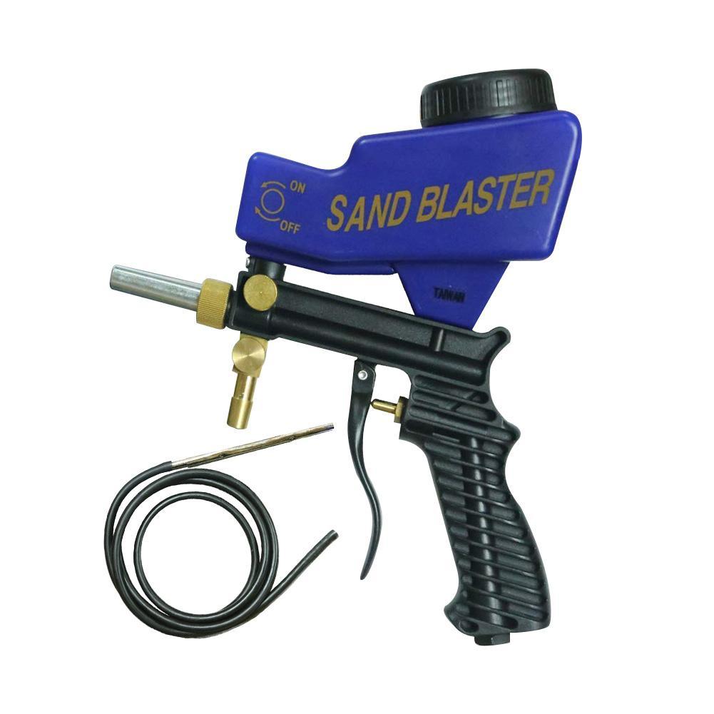 Mejora de chorro de arena Blaster pistola Kit de Soda juegos de medios de comunicación de chorro de arma #40