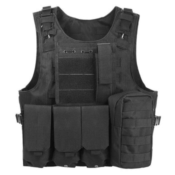 Tactical Vest Security Suit Man Combat Training Equipment Military Fan Outdoor Breathable Wear-resistant Safety Protection Vest