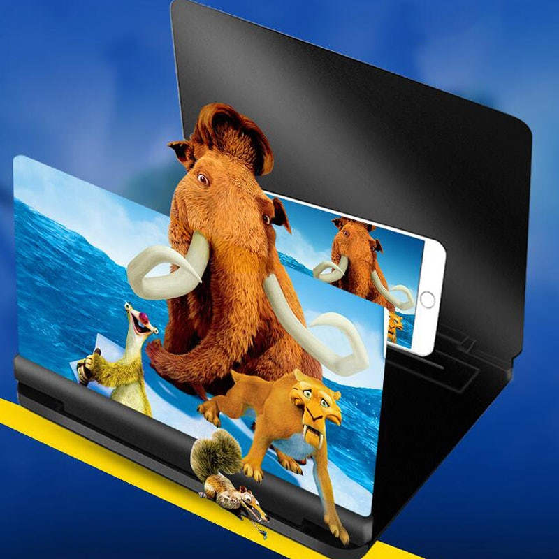 Amplificador de Vídeo Tela de Aumento e Projeção hd para Celular Anti-azul Polegada Lente 3d 16