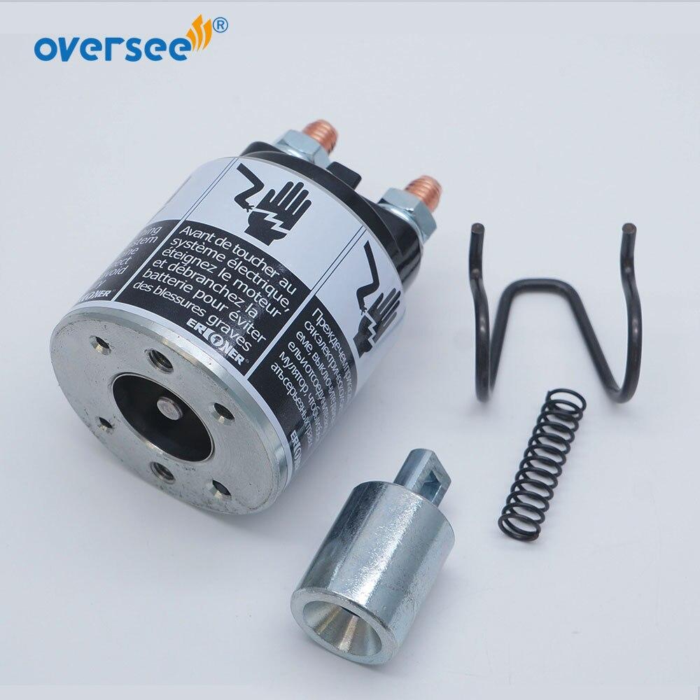 Starter Motor Solenoid Magnet Switch 31220-90J00 For Suzuki Outboard Motor DF90-250HP 31220-94J00 Parts enlarge