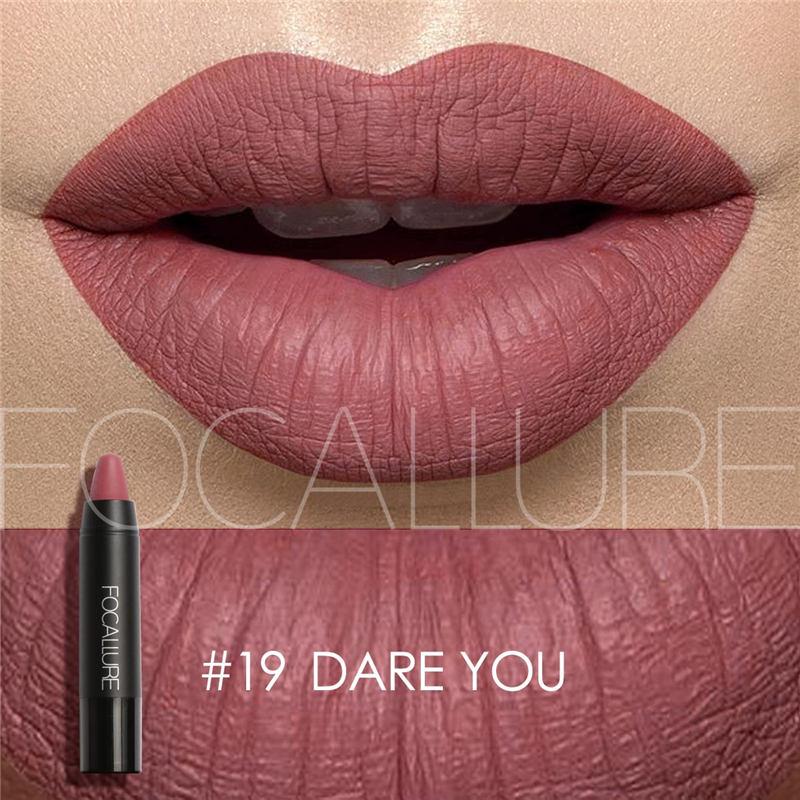 AliExpress - FOCALLURE Cosmetics Matte Lipstick High Gloss Lip Make Up Lips Crayons  Long Lasting  Waterproof Lipsticks 27 Colors