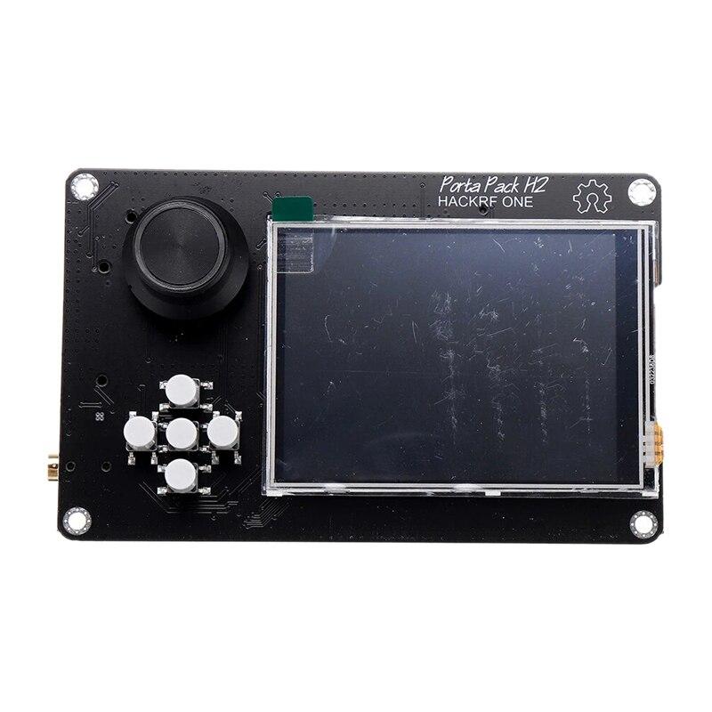 3.2 بوصة الصحافة LCD PortaPack H2 وحدة التحكم 0.5Ppm TXCO ل هاكر SDR استقبال هام راديو C5-015 مع بطارية 2100MAh