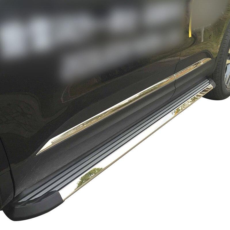 Passo ao lado estribo quente nerf bar para RENAULT KOLEOS NOVA KADJAR CAPTUR IATF16949 qualidade do fornecedor, SUV speciali
