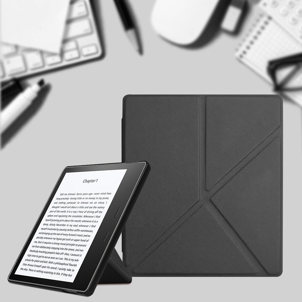 AliExpress - Origami Case for Kindle Oasis 2019, PU Leather Stand Cover for Kindle Oasis 3 Magnetic Folding Protective Shell