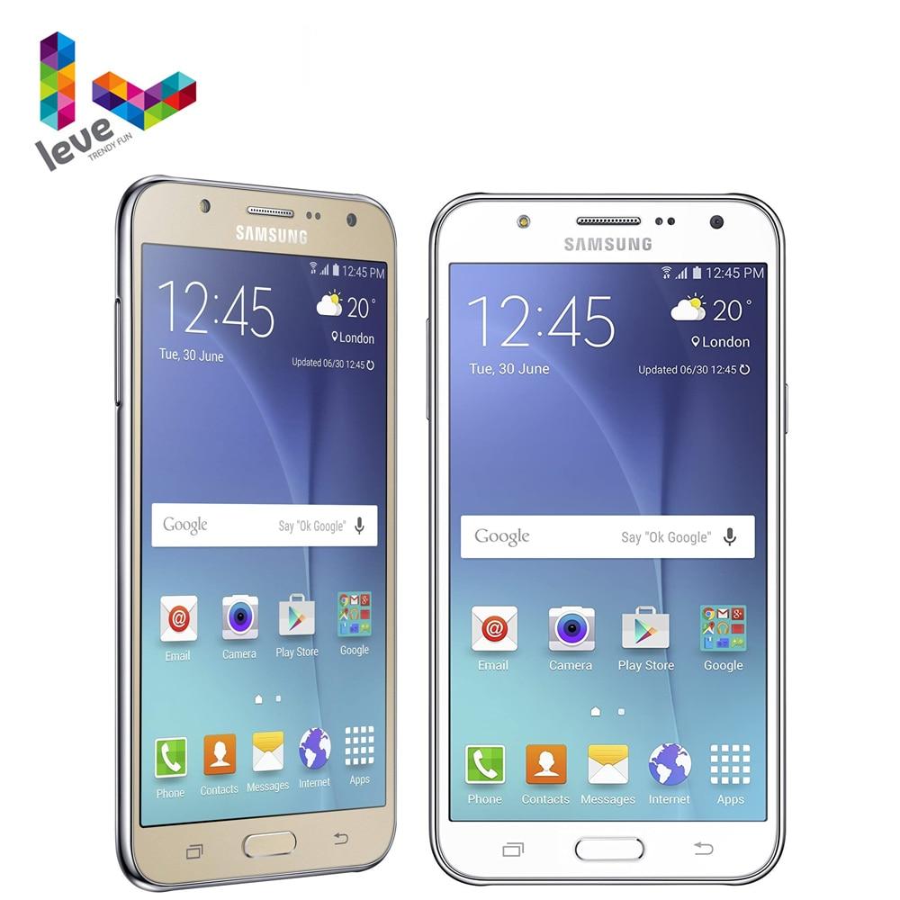 "Original Entsperrt Samsung Galaxy J7 SM-J700F Dual SIM Handy 1,5 GB RAM 16GB ROM 5.5 ""Octa Core 13,0 MP 4G LTE Smartphone"