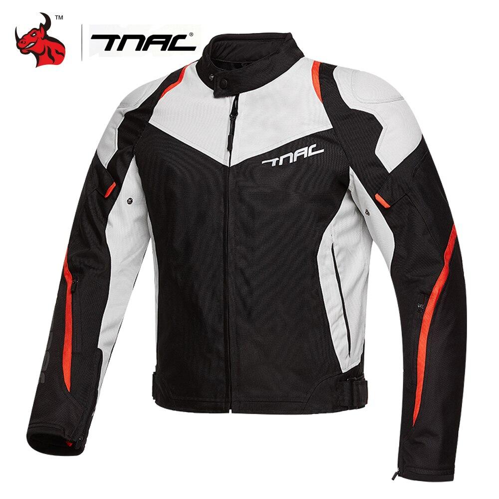 Chaqueta de motocicleta TNAC, chaqueta de motorista para hombre, chaqueta reflectante de moto, chaqueta de Motocross impermeable, ropa de moto