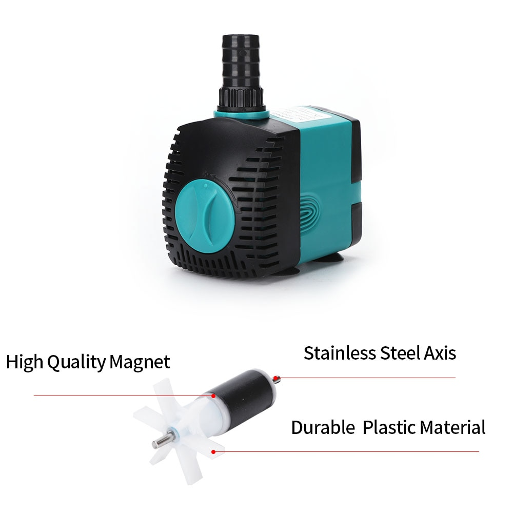 3W 6W 10W 15W 25W ultra tihi potopljeni filter pumpe za vodoskok za - Kućni ljubimci - Foto 4