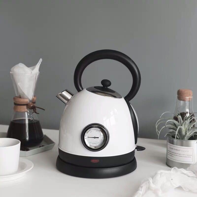 Hervidor De Agua eléctrico De acero inoxidable para el hogar, calentador De...