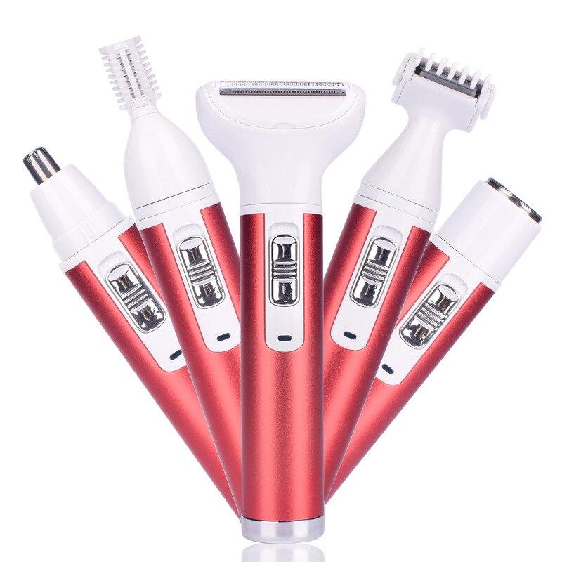 Многофункциональные Обрезанные костюмы с USB-разъемом для женщин, интимные зоны, волосы для носа и ушей, личная гигиена, происхождение