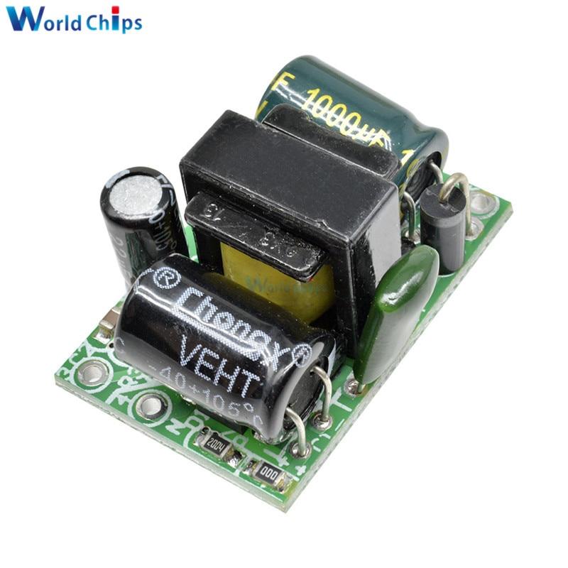 AC-DC 5V 800mA 110V 220V a DC 5V Buck convertidor paso transformador de placa de módulo de fuente de alimentación para Arduino tensión de aislamiento