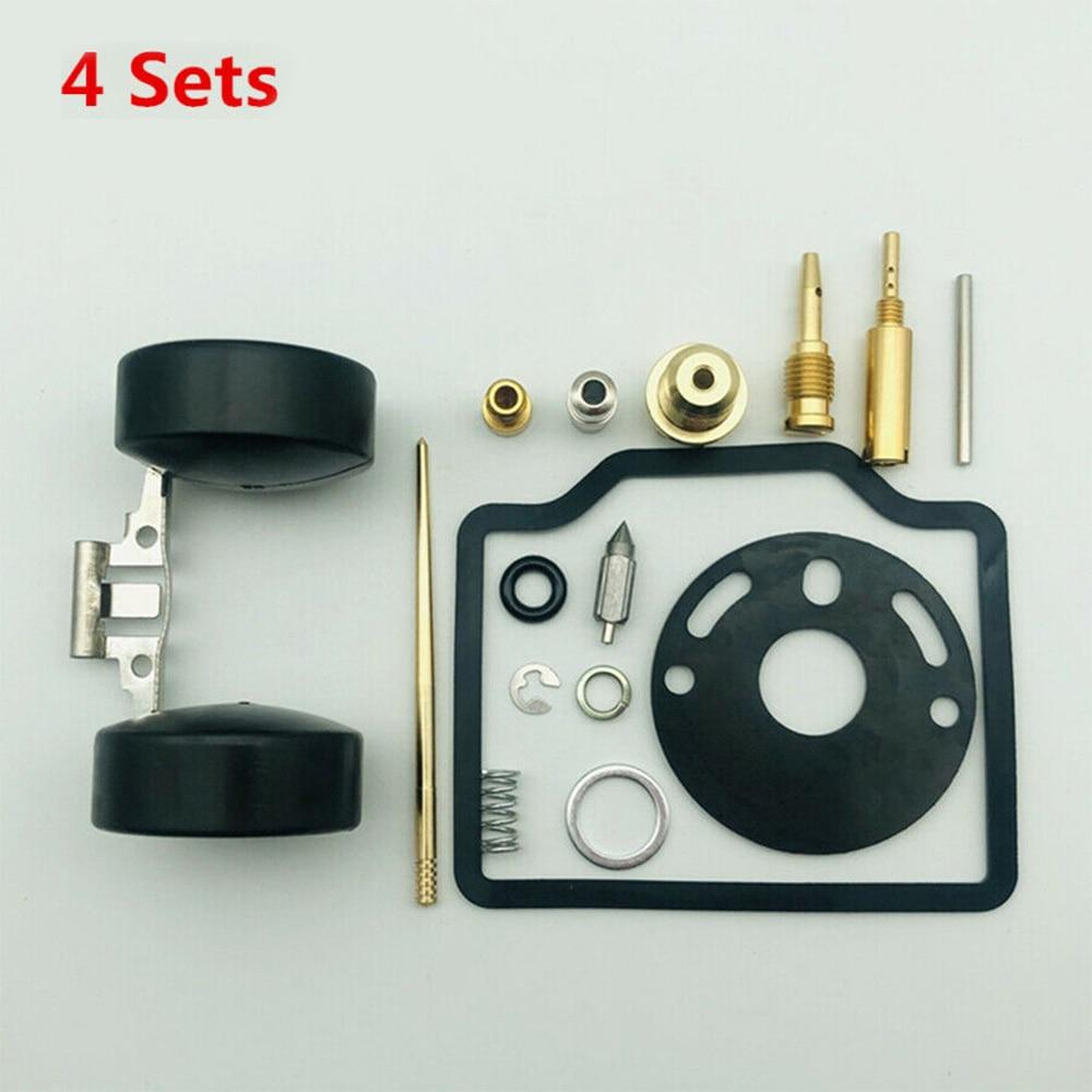 Para honda cb750 quatro cb750k 1969-1976 kit de reparação do carburador 4 conjuntos parafuso de ar alternativas projetadas