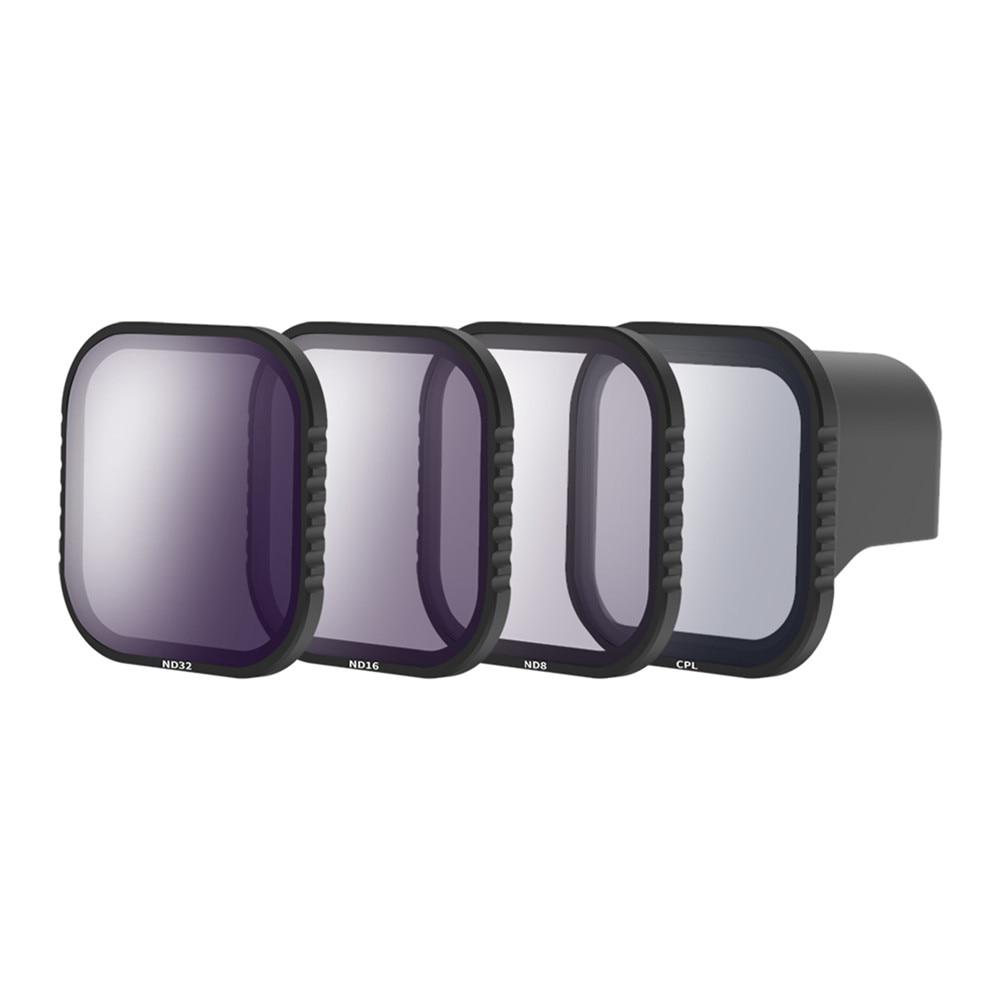 Profesional CPL ND8 ND16 ND32 Filtro de lente para Gopro Hero 8 cámara de acción juego de cubierta protectora de lente magnética Accesorios