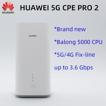 Original Huawei 5G CPE Pro 2 H122-373 5G/4G hotspot WiFi 6 Plus NSA SA