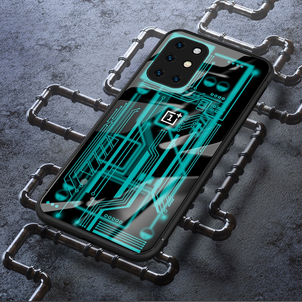 Case for Oneplus 8T Only tempered glass protective innovative design phone 1+ cover for one plus 8t
