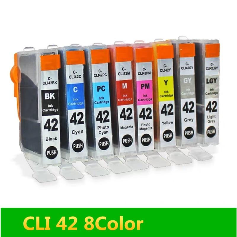 Cartucho de tinta GraceMate CLI 42 Compatible para Canon CLI-42 CLI42 CLI 42 cli-42 cli42 para CANON pixma pro-100