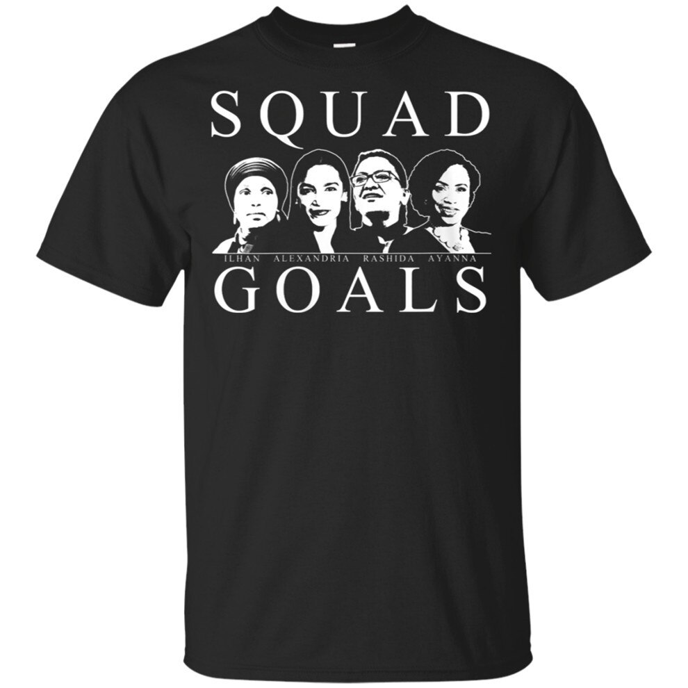 Hombres escuadrón objetivos Aoc Marsel Ilhan Ayanna Rashida camiseta tamaño M-3Xl Retro Tee camiseta