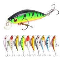 new luya bait floating minor best quality fishing wobbler 70mm7 9g hanging weever baits artificial fishing tackle wholesale