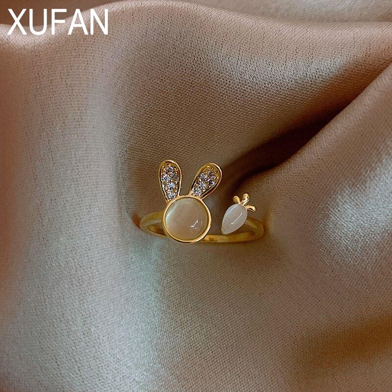 Винтажные Регулируемые кольца для девочек и женщин, кольцо в стиле бохо, Модная бижутерия, эстетические аксессуары, позолоченное кольцо, подарки, пары