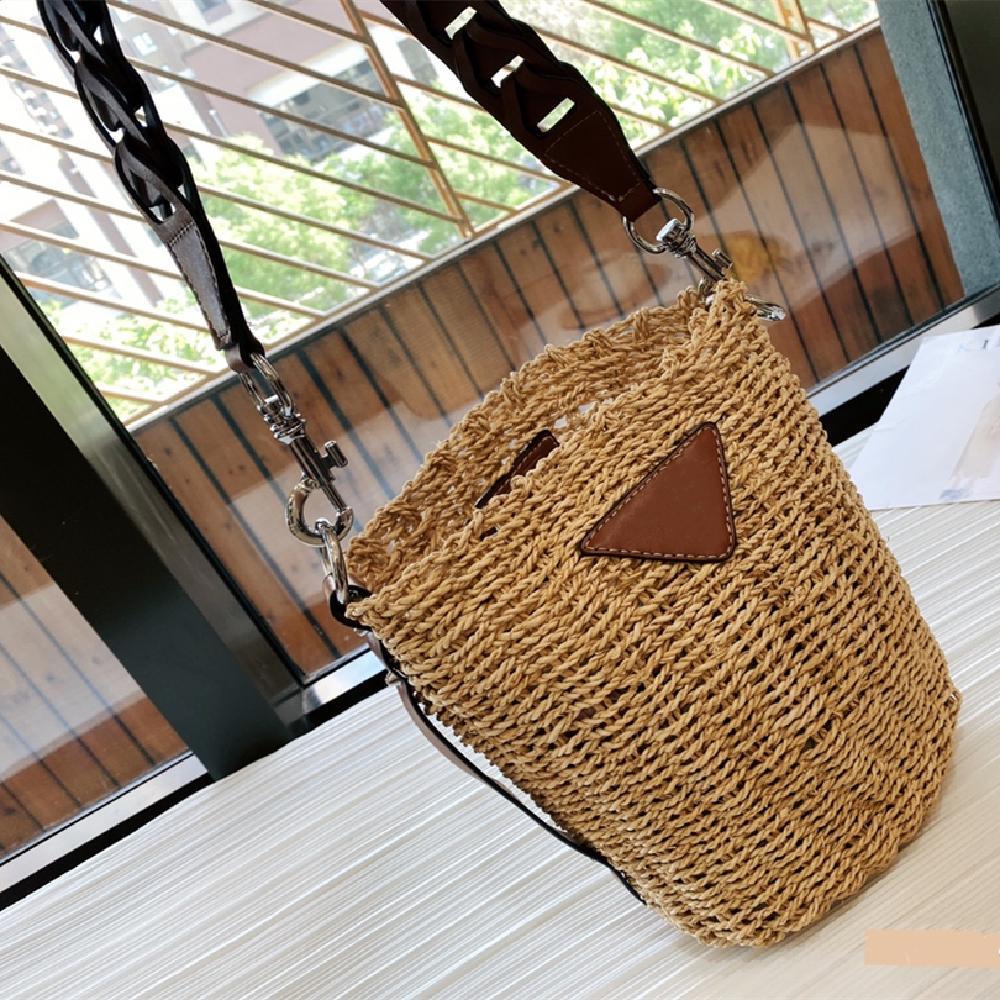 Ladies Summer Straw Bag Ladies Messenger Bag Vegetable Basket Bag Fashion Fresh Shoulder Bag Picnic Multifunctional Bag