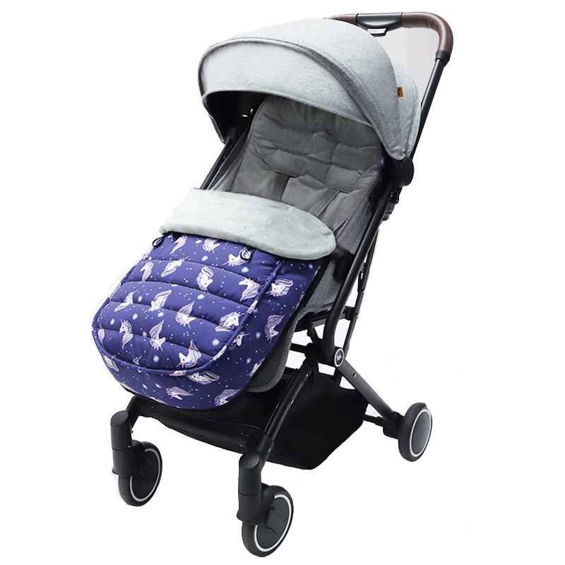 Baby stroller sleeping bag warm stroller foot cover universal thick cushion foot cover windproof cover winter out and windproof