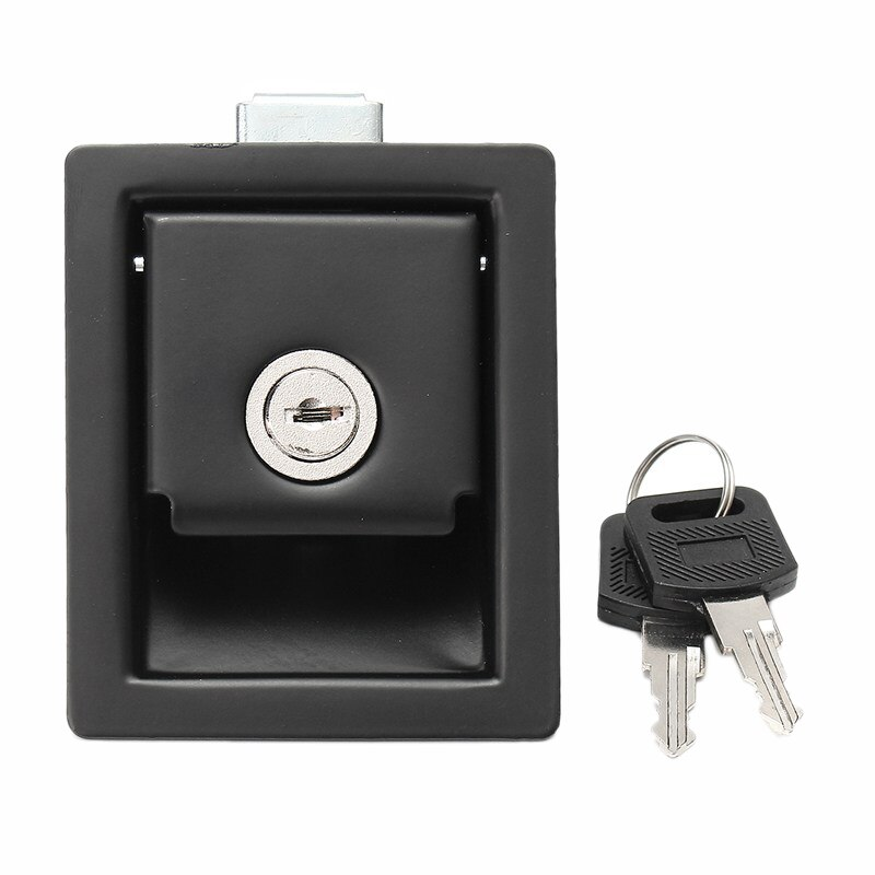 Rv Car Paddle Entry Door Lock Latch Handle Knob Camper-Trailer Pull Type Panel Door Lock