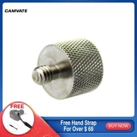 camvate standard screw connector adapter with 58 27 female to 14 20 male threads for microphone stands mounts mounting new