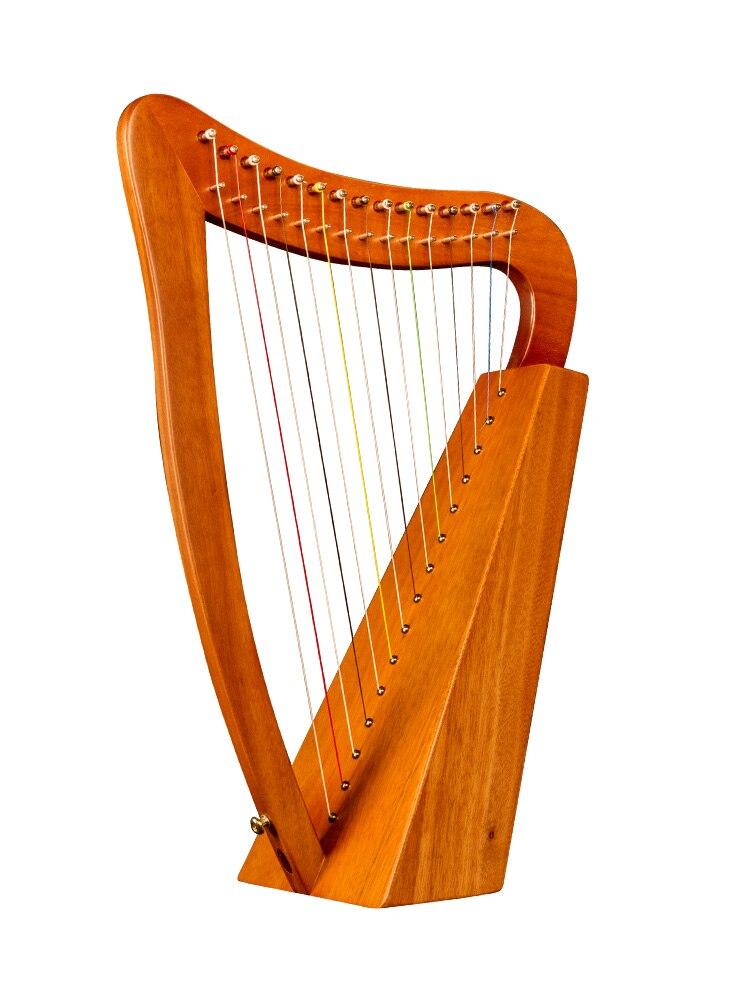 آلة موسيقية كبيرة القيثارة 15 سلسلة الموسيقى القيثارة الخشبية 19 سلاسل عالية الجودة آلات سلسلة Musicales EI50HP