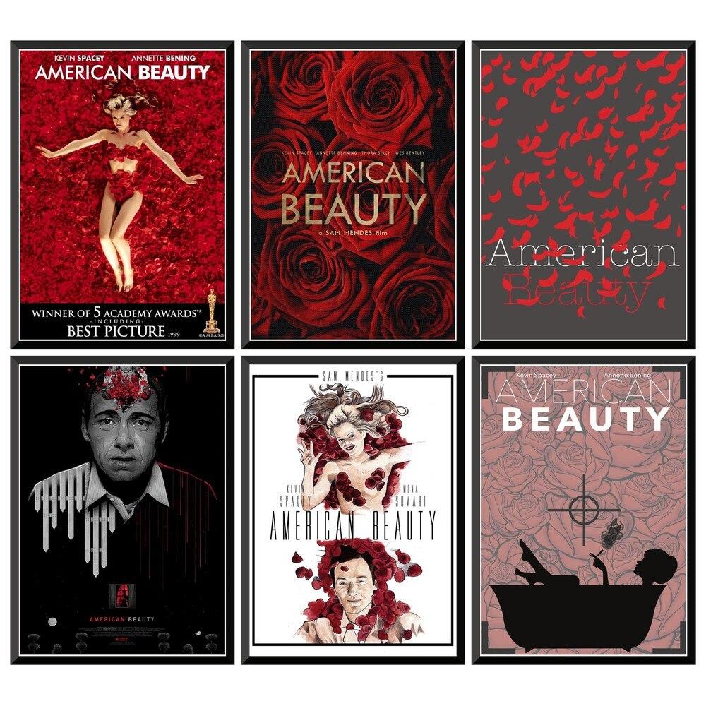 Американская красота, фильм, плакат, наклейки для дома, бара, кафе, 42x30 см