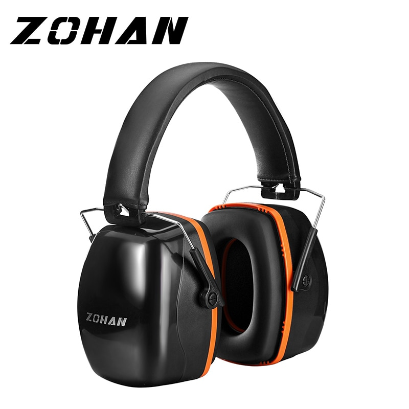 ZOHAN Noise Reduction Safety Earmuffs Headphone  NRR 28dB Shooters Hearing Protection Earmuffs Adjustable  Ear Protector Headset zohan noise cancelling hunting hearing protection safety earmuffs ear defenders adjustable shooting ear protection protector