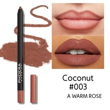 1Pcs Cosmetic Lipstick Pen Professional Matte Waterproof Lady Charming Lip Liner Contour Makeup Lips