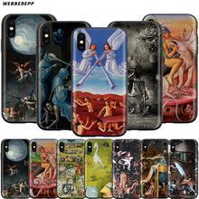 Webbedepp Hieronymus Bosch Fall für Apple iPhone 11 Pro XS Max XR X 8 7 6 6S Plus 5 5S SE
