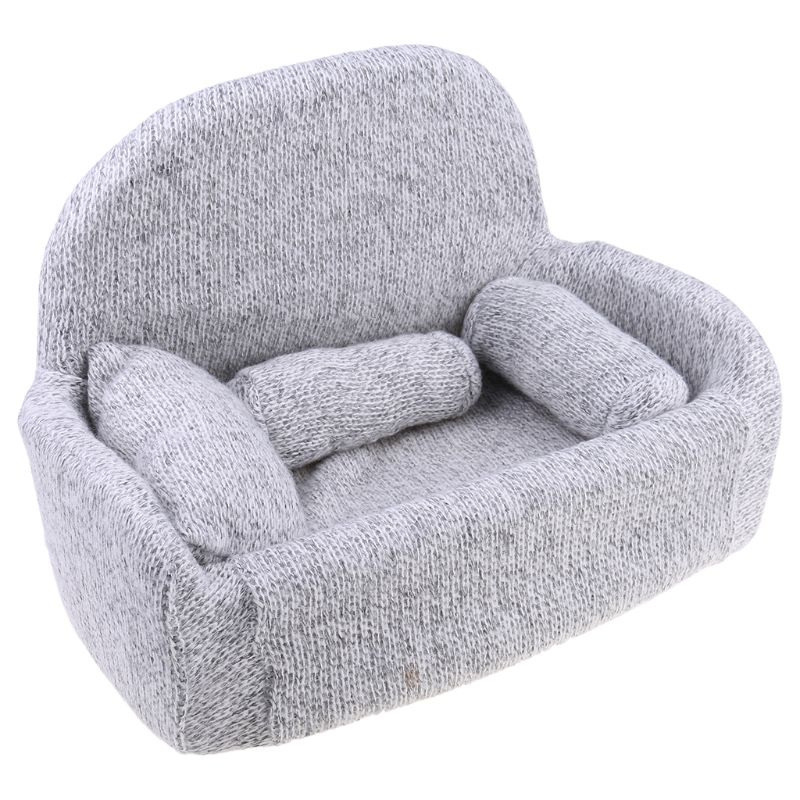 4 pçs/set newborn fotografia adereços bebê posando sofá travesseiro conjunto cadeira decoração 57bf