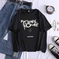 my chemical romance three cheers for sweet revenge new women graphic tees t shirt black shirts homme t shirt women casual