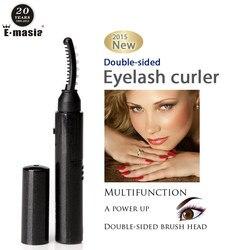 Perm elétrica aquecida cílios modelador portátil caneta estilo longa duração olho lash curler maquiagem curling kit para as mulheres 1pcs