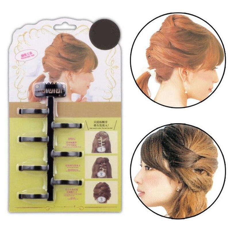 1 Pc New Creative Centipede Braid Hair Braider DIY Fast Hair Braiders Braided Hair Styling Tools Hair Clips
