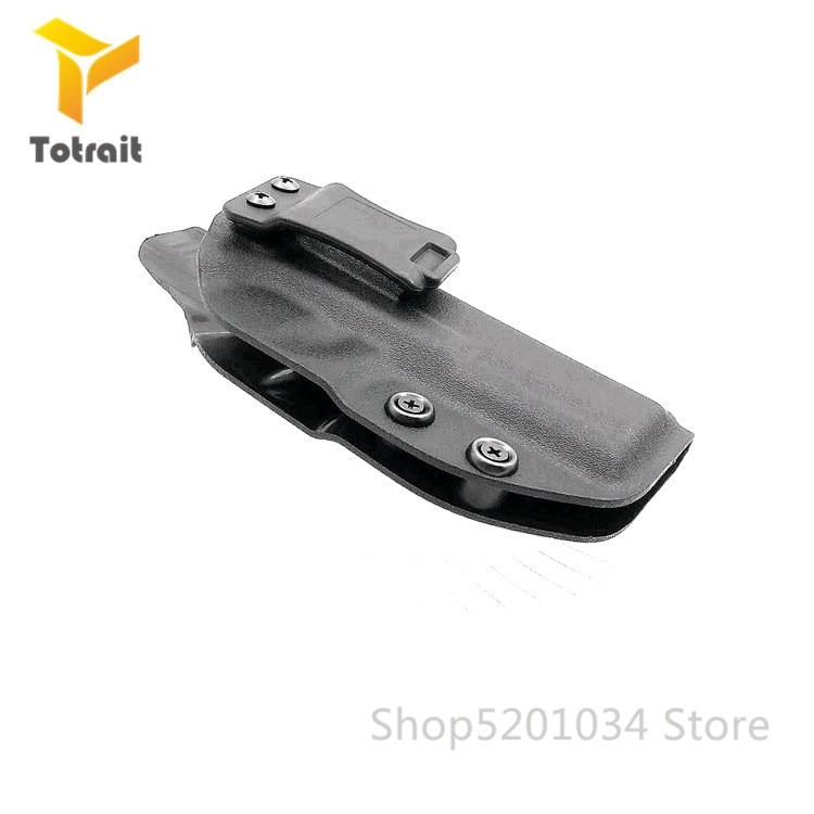 Tactical Ocultação Final Personalizado Moldado Para Glock Kydex Coldre IWB 17nside Ocultaram Transportar Caso Pistola Acessórios